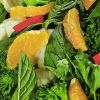 Brokoli ve Karnabahar Salatası