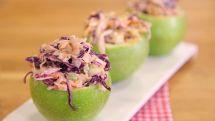 Yeşil Elma Çanaklı Salata Tarifi