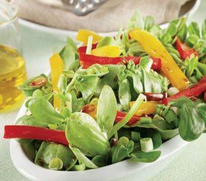Fıstıklı Semizotu Salatası