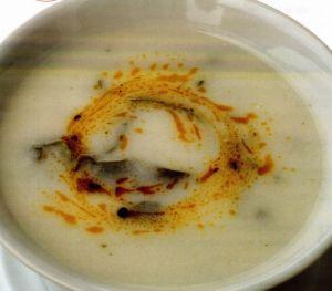 Nohutlu Pazı Çorbası