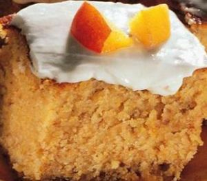 Mısır Unlu Kremalı Pasta