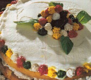 Leblebi Şekerli Pasta