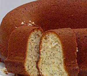Oktay Usta Limonlu Haşhaşlı Kek