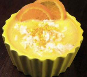 Portakallı Zerdeçallı Sütlaç