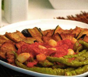 Soslu Patlıcan Kızartması