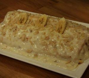 Arda Türkmen Muzlu Rulo Pasta