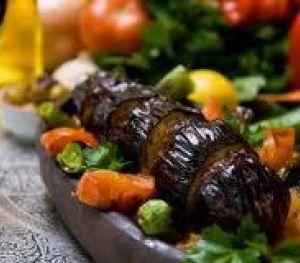 Fırında Köfteli Patlıcan Kebabı