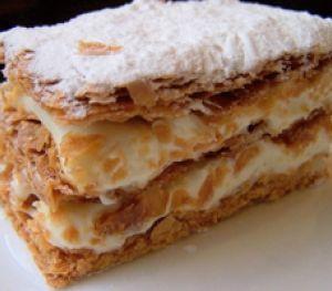 Elif Korkmazel Kremalı Milföy Pasta