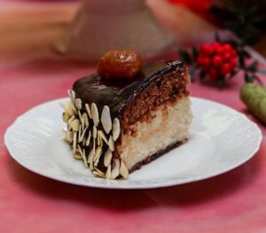 Labneli Kestaneli Pasta