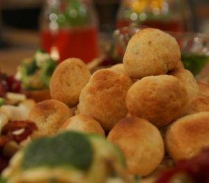 Parmesanlı Zeytin Topları
