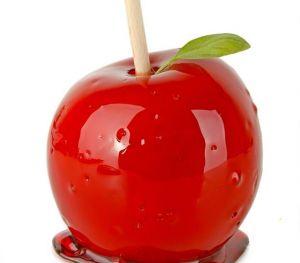 Ev Yapımı Elma Şekeri