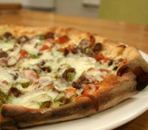 Kuşbaşılı Kaşarlı Pizza