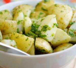 Hafif Patates Salatası