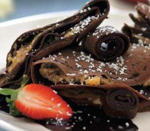 Çikolatalı Meyveli Krepler