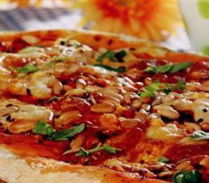 Fıstıklı Pizza