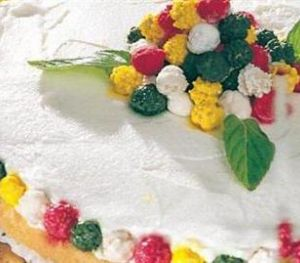 Lebleli Şekerli Pasta