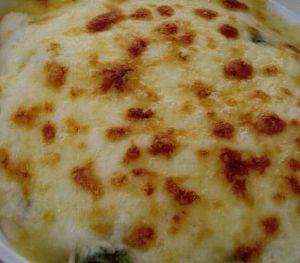 Peynir Soslu Brüksel Lahanası