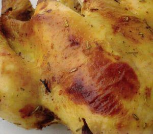 Fırında Baharatlı Tavuk