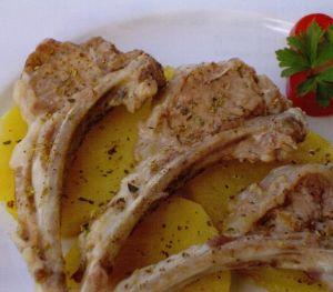 Patatesli Kuzu Pirzola